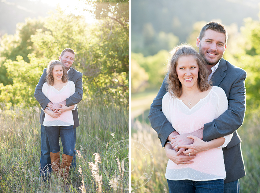 Husband and Wife   Denver Family Photographer